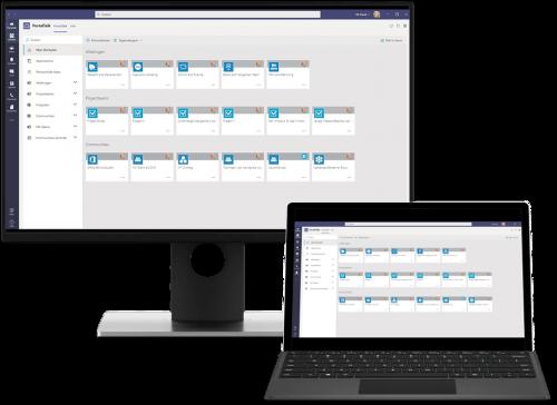 Mockup PortalTalk Surface